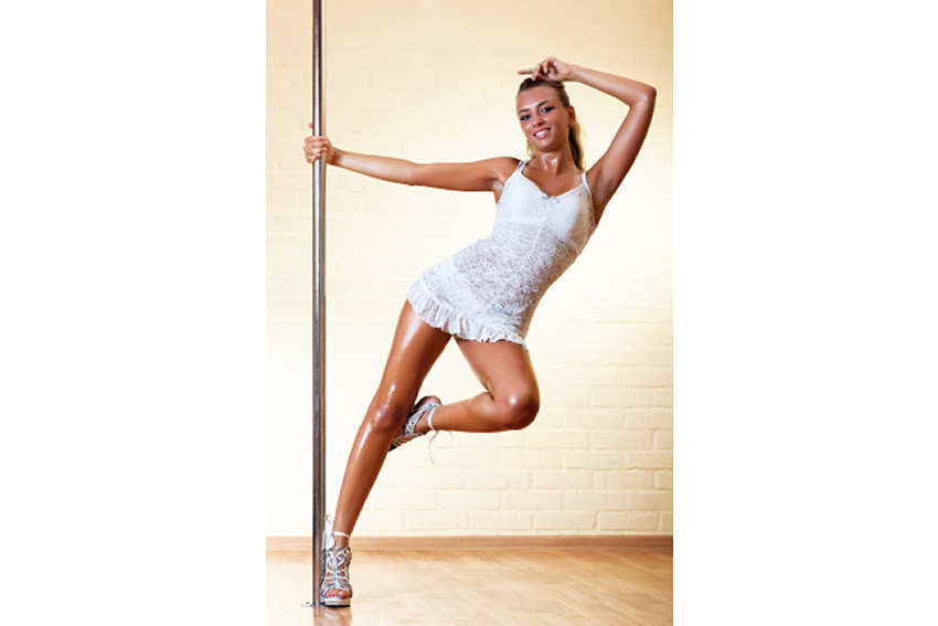 Get fit and have fun with a Pole fitness class