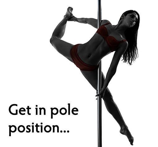 Forget the stereotypes... pole dancing is a great way to get active.